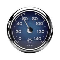 Medallion Instrumentation Systems Classic Blue Premium Gauges for Touring Models