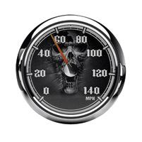 Medallion Instrumentation Systems Skulls Premium Gauges for Touring Models