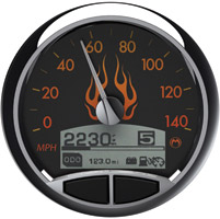Medallion Premium 5″ Flames Console Gauge
