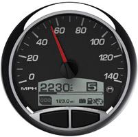 Medallion Premium 5″ Console Racing Black Gauge
