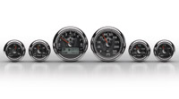 Medallion Instrumentation Systems Premium Bagger KPH Gauges, Skulls