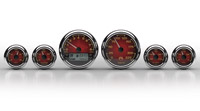 Medallion Instrumentation Systems Premium Bagger KPH Gauges, Classic