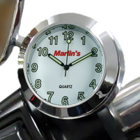 Marlin's Champ Series White Clock
