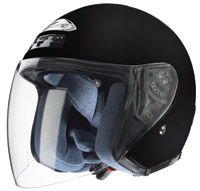 Zox Kaba Matt Black Open Face Helmet