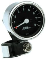 J&P Cycles® Mini Tachometer