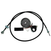 J&P Cycles® Mini Speedometer Kit