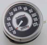 J&P Cycles® FL-Style 1941-45 Face Speedometer