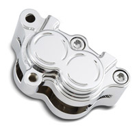 Arlen Ness Chrome Rear Left Brake Caliper Housing