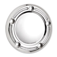 Arlen Ness 5-Hole Slot Track Chrome Point Cover for Twin Cam