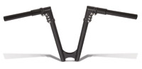 Arlen Ness 12″ Modular Black Drag Bars