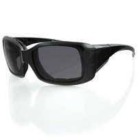 Bobster Ava Convertible, Black Frame, Anti-fog Smoked Lens