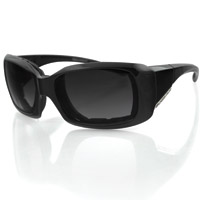 Bobster Ava Convertible, Black Frame/Smoked Polarized Lens