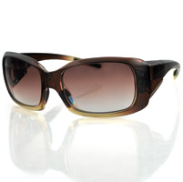 Bobster Ava Convertible Sunglasses, Brown Fade Frame/Gradient Brown