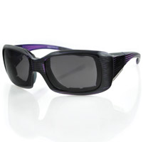 Bobster Ava Convertible, Purple Frame/Anti-fog Lens