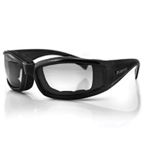 Bobster Invader Sunglass, Black Frame, Photochromic Lens
