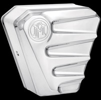 Performance Machine Scallop Chrome Horn Cover
