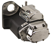 Ultima Black Powder Coated Slick Shift 5-Speed Transmission