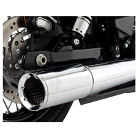 Vance & Hines 2 Into 1 Pro Pipe Exhaust Chrome