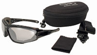 Global Vision Eyewear Shorty 24 A/F Sunglasses with Clear Lenses
