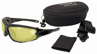 Global Vision Eyewear Shorty 24 A/F Sunglasses with Yellow Lenses