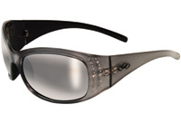 Global Vision Eyewear Marilyn 2 Gray Frame Smoke Lens Sunglasses