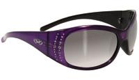 Global Vision Eyewear Marilyn 2 Purple Frame Smoke Lens Sunglasses