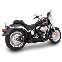 Vance & Hines Competition Series 2 into 1 Exhaust Matte Black