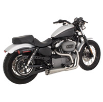 Vance & Hines Competition Series 2-into-1 Exhaust, Brushed