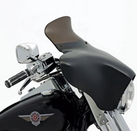 Memphis Shades 6-1/2″ Smoke Spoiler Windshield for Memphis Shades Batwing