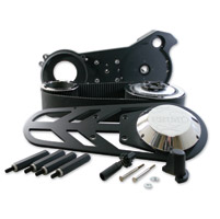 Rivera Primo Brute IV Extreme Belt Drive Kit with Black Standard Front Pulley Offset