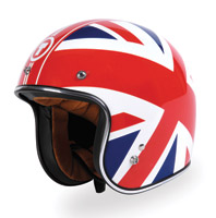 Torc Route 66 T-50 Union Jack Red/White/Blue Open Face Helmet