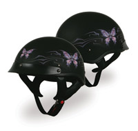 V-Can Sports T-53 Black Hills Butterfly Helmet