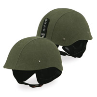 Torc T54 GI Canvas Half Green Helmet