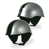 Torc T54 GI Half Ghost Flame Silver Helm