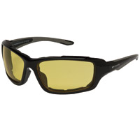 Chap'el Padded Black Frame Sunglasses with Night Driving Lens