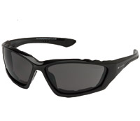 Chap'el Padded Black Frame with Smoke Lens