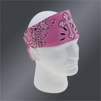 Chop Top Pink Cross Paisley Doo Wrap