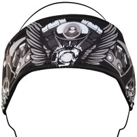 ZAN headgear VTwin Wings Headband