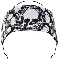 ZAN headgear All Over Skull Headband