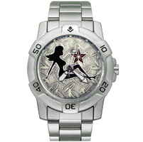 Ram Instrument Chrome Mudflap Chick Biker Watch