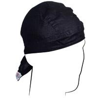 ZAN headgear Solid Black Flydanna