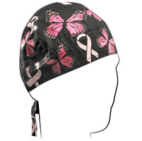 ZAN headgear Ribbon and Butterflies Flydanna