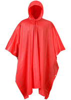 Mossi Red Emergency Poncho