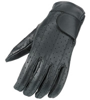 Raider Vented Leather Gloves