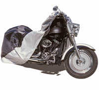 Raider Motorcycle Cover for 500-1100cc with Fairing and Bags