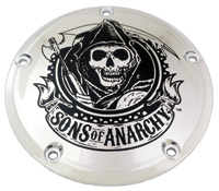 Custom Engraving Ltd. Sons of Anarchy Derby Cover
