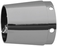 Rush 4″ Smooth OEM Taper Chrome Exhaust Tip