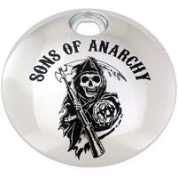 Custom Engraving Ltd. Sons of Anarchy Chrome Reaper Fuel Door