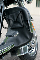 Kuryakyn Engine Guard Chaps with Drink Holder and Pocket for Touring Models