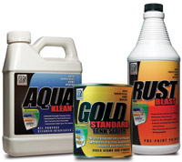 KBS Coatings Gold Standard Gas Tank Sealer Kit